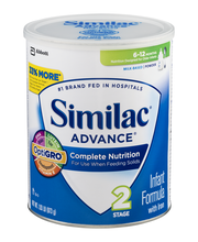 Similac® Advance® Infant Formula with Iron Birth to 12 Months...