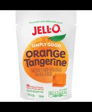 Jell-O® Simply Good Orange Tangerine Gelatin Dessert Mix 3 oz...