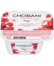 "Chobani®""Flip""™ Pure Raspberry Whole Milk Greek Yogurt 5.3 oz..."