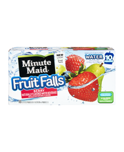 Minute Maid® Fruit Falls® Berry Water Beverage 200mL 10 pk. Box