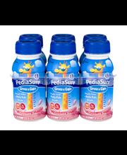 PediaSure® Grow & Gain Strawberry Shake 6-8 fl. oz. Bottles