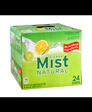 Sierra Mist Natural Caffeine Free Lemon-Lime Soda - 24 CT
