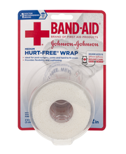 Johnson & Johnson® Band-Aid® Medium 2 in.Hurt-Free® Wrap 2.3 ...