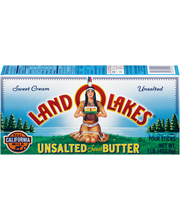 Land O'Lakes® Unsalted Sweet Butter 1 lb. Box