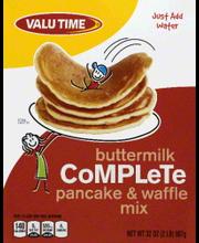 VALU TIME PANCAKE/WAFFLE MIX