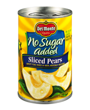Del Monte® No Sugar Added Sliced Bartlett Pears Packed in Water, Artificially Sweetened 14.5 oz. Can
