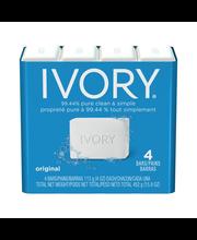 Ivory Original 4-Count: Bath Size Bars 4 Oz