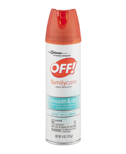 Off!® FamilyCare Smooth & Dry Insect Repellent 4 oz. Aerosol Can