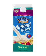 Blue Diamond® Almonds Almond Breeze® Unsweetened Original Alm...