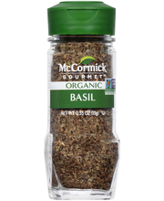 McCormick Gourmet™ Organic Basil 0.55 oz. Bottle
