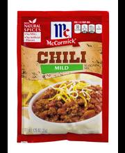 McCormick® Mild Chili Seasoning Mix, 1.25 oz