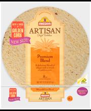 Mission® Artisan Style Wheat & Corn Blend Tortillas 8 ct Bag