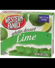 Wf Lime Gelatin