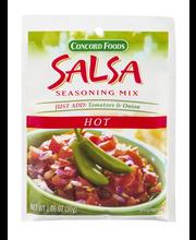 Concord Foods Seasoning Mix Hot