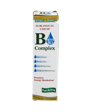 Nature's Bounty B Complex with B12 Sublingual Liquid Fast Act...