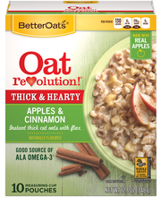 Better Oats™ Thick & Hearty Apples & Cinnamon Instant Oatmeal...