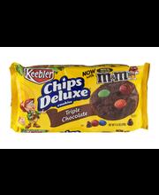 Keebler™ Chips Deluxe® Triple Chocolate Cookies 11.6 oz. Pack