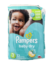 Pampers Baby-Dry Size 3 Diapers 32 ct Pack