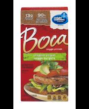 Boca Original Vegan Veggie Burgers 4 ct Box