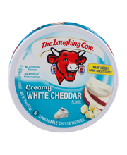 The Laughing Cow® Creamy White Chedar Flavor Spreadable Chees...
