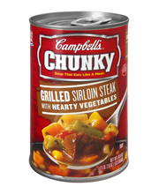 Campbell's® Chunky™ Grilled Sirloin Steak & Hearty Vegetables...