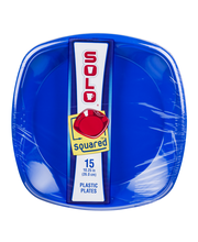 Solo Squared 10.25in Plastic Plates - 15 CT