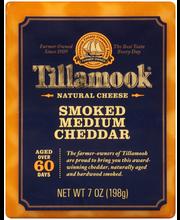 Tillamook® Smoked Medium Cheddar Natural Cheese 7 oz. Pack