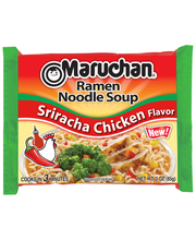 Maruchan® Sriracha Chicken Flavor Ramen Noodle Soup 3 oz. Bag