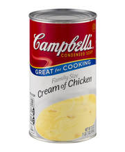 Campbell's Cream of Chicken Condensed Soup Family Size 22.6 oz.
