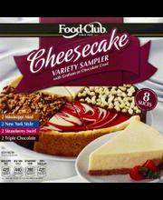 FOOD CLUB CHEESECAKE VARIETY