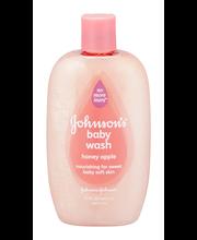 Johnson's® Honey Apple Baby Wash 15 fl. oz. Bottle