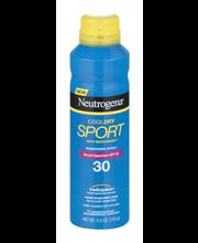 Neutrogena® CoolDry Sport SPF 30 Sunscreen Spray 5.5 oz. Aerosol Can