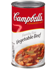 Campbell's® Condensed Family Size Vegetable Beef Soup, 23 oz.