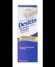 Desitin® Maximum Strength Zinc Oxide Diaper Rash Paste 4 oz. Box