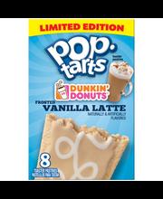 Pop-Tarts® Dunkin' Donuts® Frosted Vanilla Latte Toaster Past...