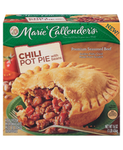 Marie Callender's® Chili Pot Pie with Beans 16 oz. Box