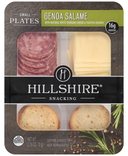 Hillshire® Snacking Small Plates, Genoa Salame and White Ched...
