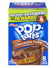Pop-Tarts® Frosted Chocolate Fudge Toaster Pastries 14.7 oz. Box
