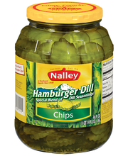Nalley® Hamburger Dill Chip Pickles 46 fl. oz. Jar