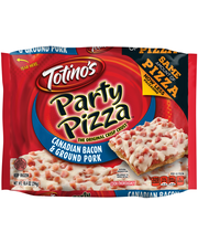 Totino's™ Canadian Bacon & Ground Pork Party Pizza 10.4 oz. P...
