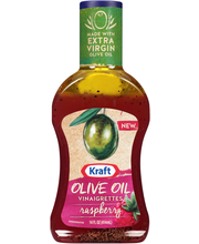Kraft Olive Oil Vinaigrettes Raspberry Dressing 14 fl. oz. Bo...