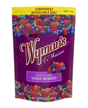 Wyman's of Maine® Fresh Frozen Mixed Berries Frozen Fruit 15 ...