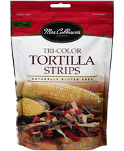 Mrs. Cubbison's® Tri-Color Tortilla Strips 4 oz. Pouch