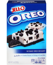 Jell-O® No Bake Oreo Dessert Kit 12.6 oz. Box