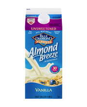 Blue Diamond® Almonds Almond Breeze® Unsweetened Vanilla Almo...