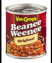 Van Camp's Original W/Sliced Hot Dogs In Tomato Sauce Beanee ...
