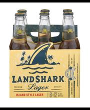 Land Shark® Lager, 6 pk 12 fl. oz. Bottles