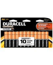 Duracell CopperTop AA Alkaline Batteries 24 ct Blister