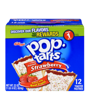 Pop-Tarts® Frosted Strawberry Toaster Pastries 12 ct Box