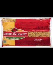 American Beauty® Ditalini 16 oz. Package